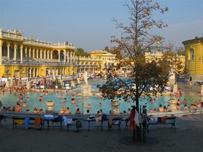 The Famous Szechenyi Baths