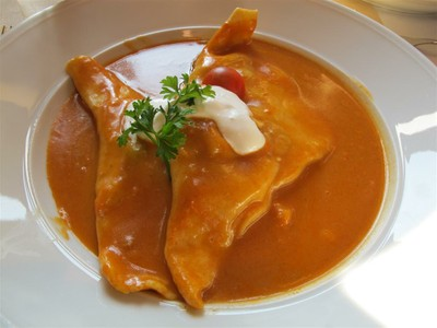Delicous Hungarian Food with Paprika