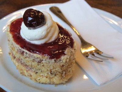 Award winning dessert at Callas Cafe