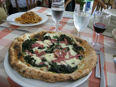 Pizza, Naples, Italy
