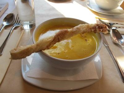 Carrot Ginger Soup, Budapest