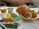 Breakfast, Positano, Italy