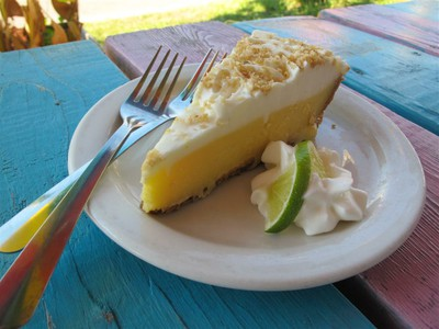 Key Lime Pie - Seafood Grill, Apalachicola, FL