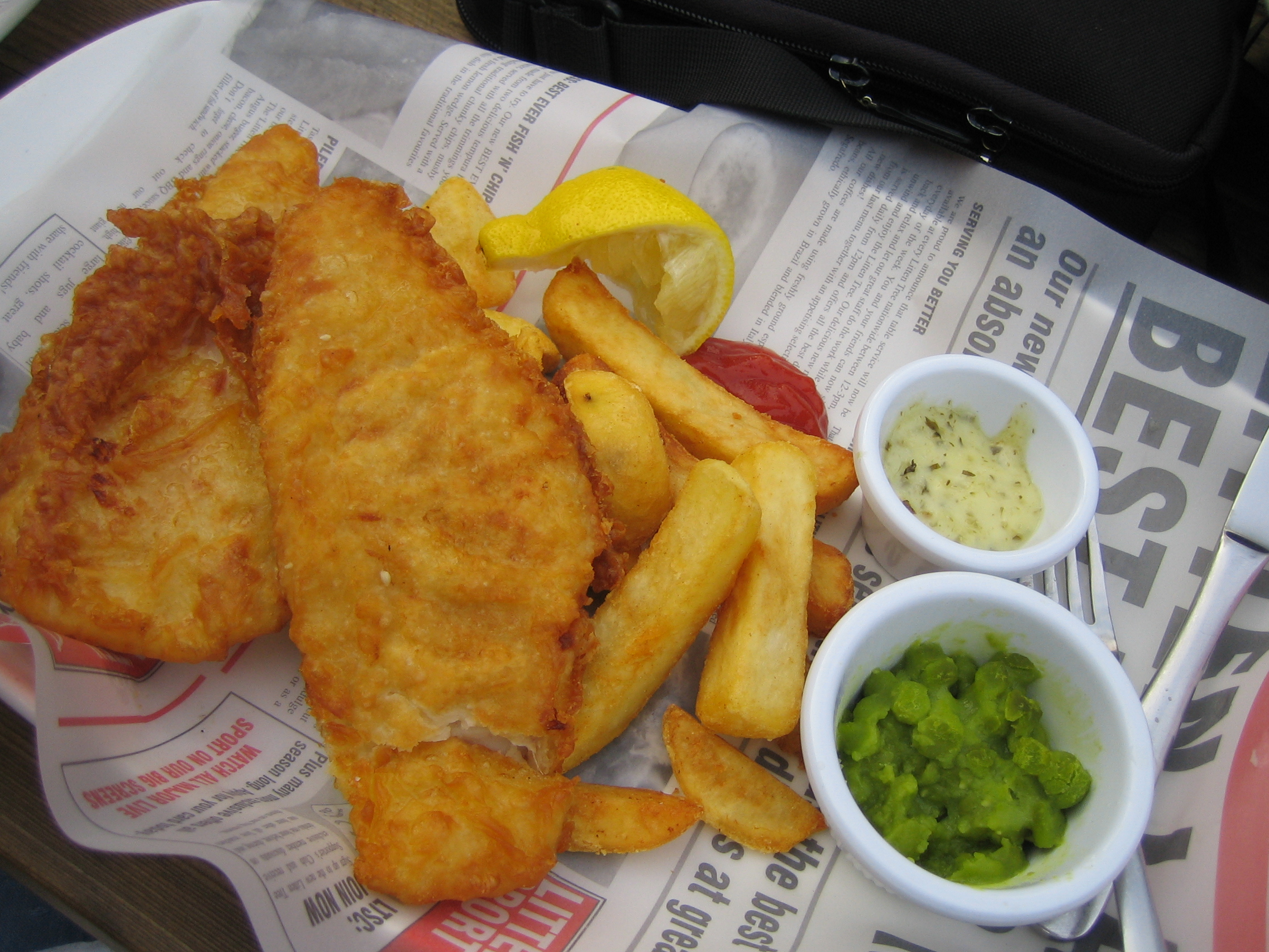 Fish and Chips, London