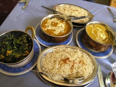 Indian Restaurant near Victoria and Albert