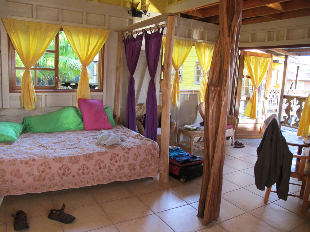 Inside the Seahorse Cabin at KoKo Resort.