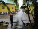 Rainy morning at KoKo Resort