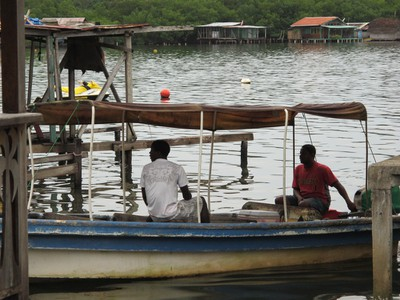 Bocas residents use boats for everyday errands