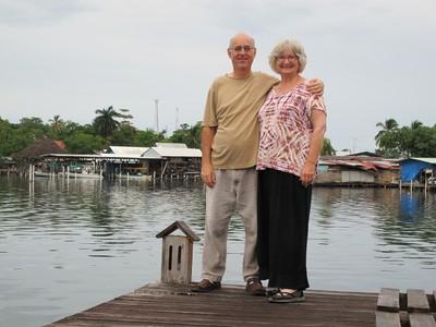Totsie and Winn celebrating 26 years together.