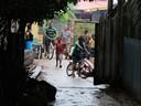 The neighborhood at Saigon Bay after the rain