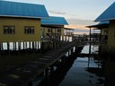 Smooth waters in the early morning hours at KoKo Resort