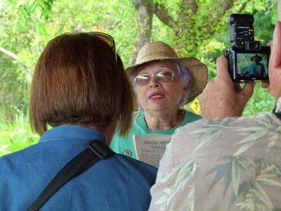 Archeologist Dr. Luz Graciela of Chriqui University