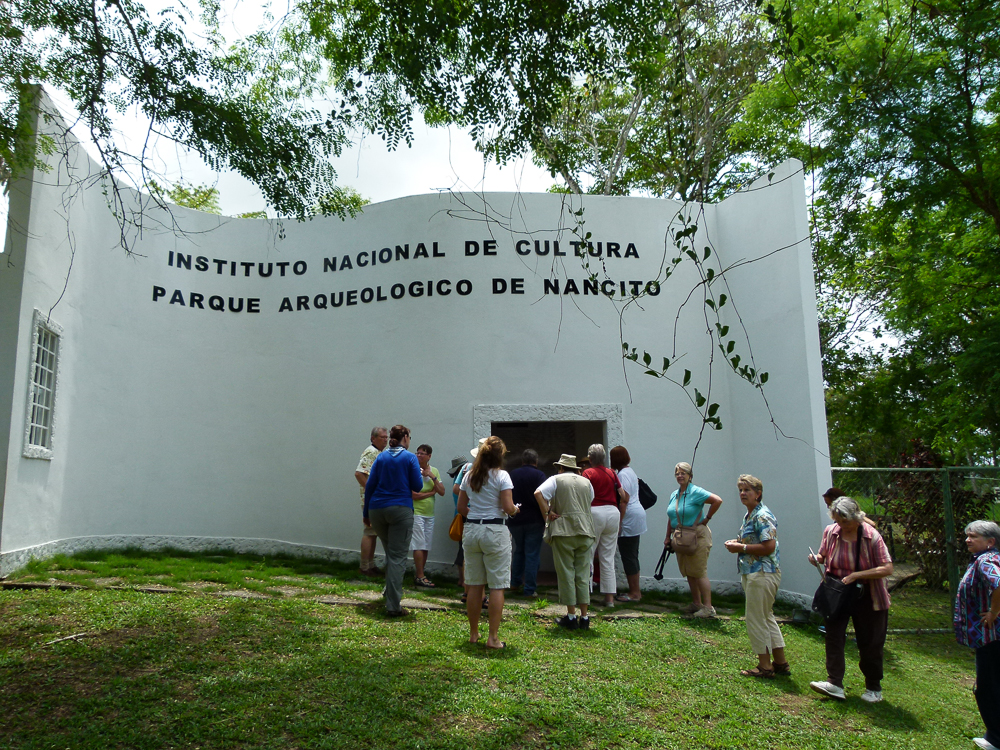 Entrance to the Museum at Nancito Archeological Park