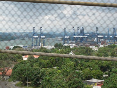 A glimpse of the Panama Canal