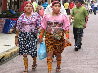 Kuna women in Casco Viejo