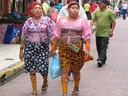 Kuna women in Casco Viejo